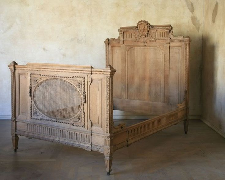antique french bed...