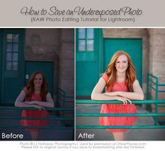 Simple tips for fixing an underexposed image in Lightroom {Photography  Photo Editing Tips via iHeartFaces.com}
