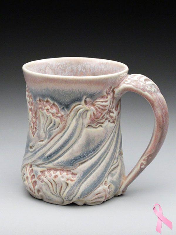 633 best ceramics mug cup tumbler images on pinterest for Clay mug ideas