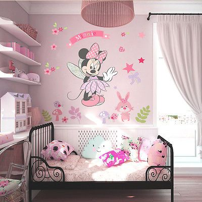 Fair price Beautiful Minnie Wall Sticker Vinyl Mural DIY Girls Bedroom Decor Decals Children Kids Gift just only $3.22 with free shipping worldwide  #wallstickers Plese click on picture to see our special price for you