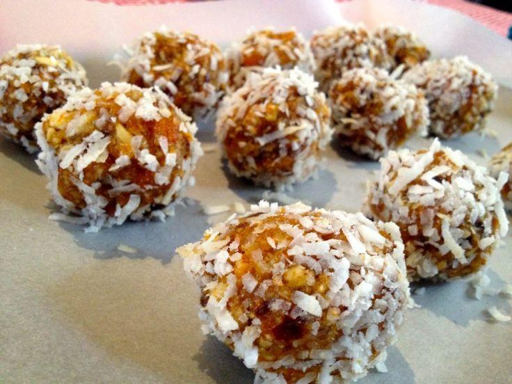 Apricot & Almond Bliss Balls