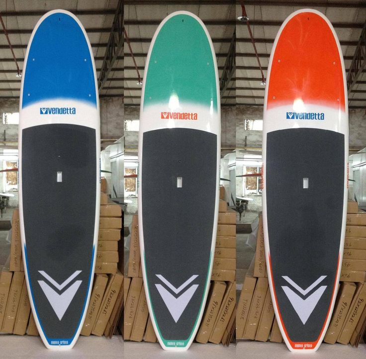 The first finished products!! Vendetta SUP Standup Paddle Boards Surf