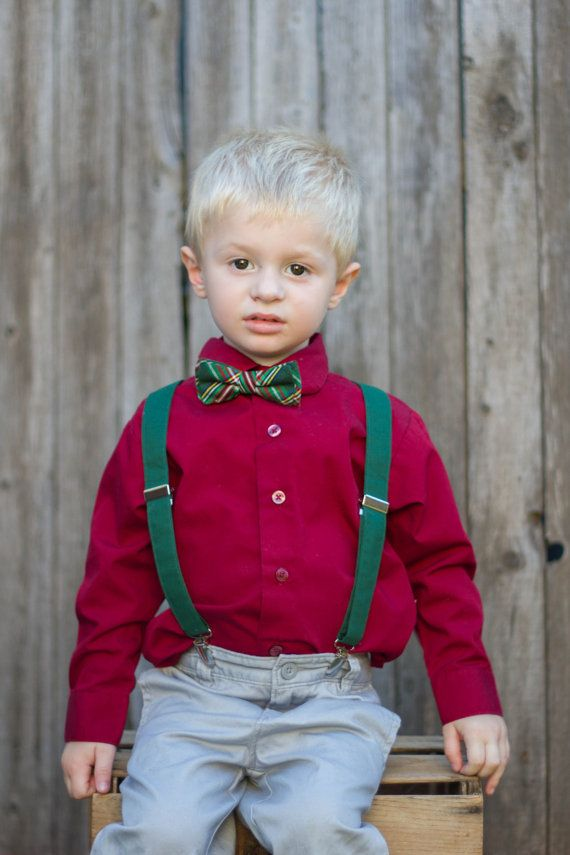 Boys Christmas Outfit Toddler Christmas Outfit By Lilgents