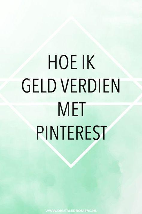 Wist je dat je Pinterest kunt inzetten om geld te verdienen? In dit artikel leg ik tot in detail uit hoe ik mijn geld verdien op Pinterest.