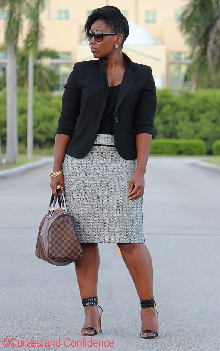 Curves and Confidence | Inspiring Curvy Women One Outfit At A Time: Tweed
