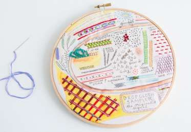 If you are looking to kick your embroidery knowledge up to the next level, this class is for you. Rebecca builds on her original embroidery sampler and teaches more than a dozen stitches that will add dimension and design to your projects. From two-color threads to elaborate textural stitches, this...