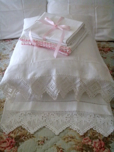 sweet dreams, lovely bedding from Cabin & Cottage