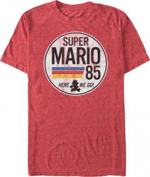 #Nintendo: Mario t-shirt.