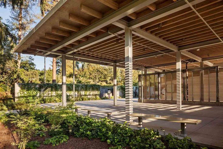 Jeremy Bittermann Photography Bellevue Botanical Gardens Visitor center - Olson Kundig Architects - Jeremy Bittermann Photography
