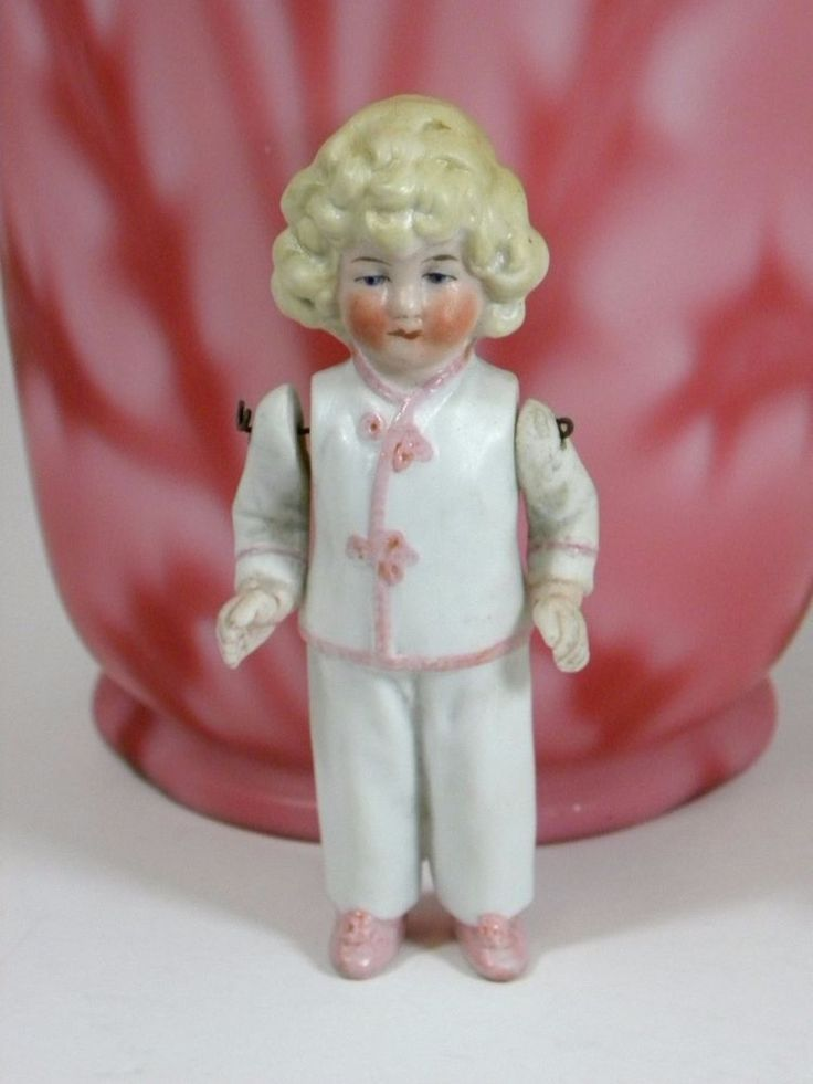17 Best Images About Bisque Dolls Molded Clothing On