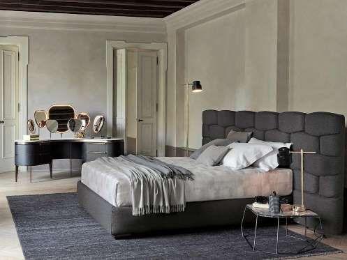 El programa de dormitorios Majal, ideado por Carlo Colombo para la firma Flou, incorpora un mullido ... - Copyright © 2016 Hearst Magazines, S.L.