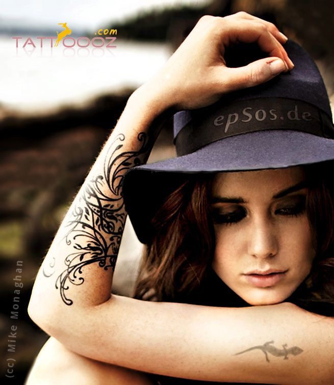 Tattoo For Womens Arms: Arm Tattoo For Women