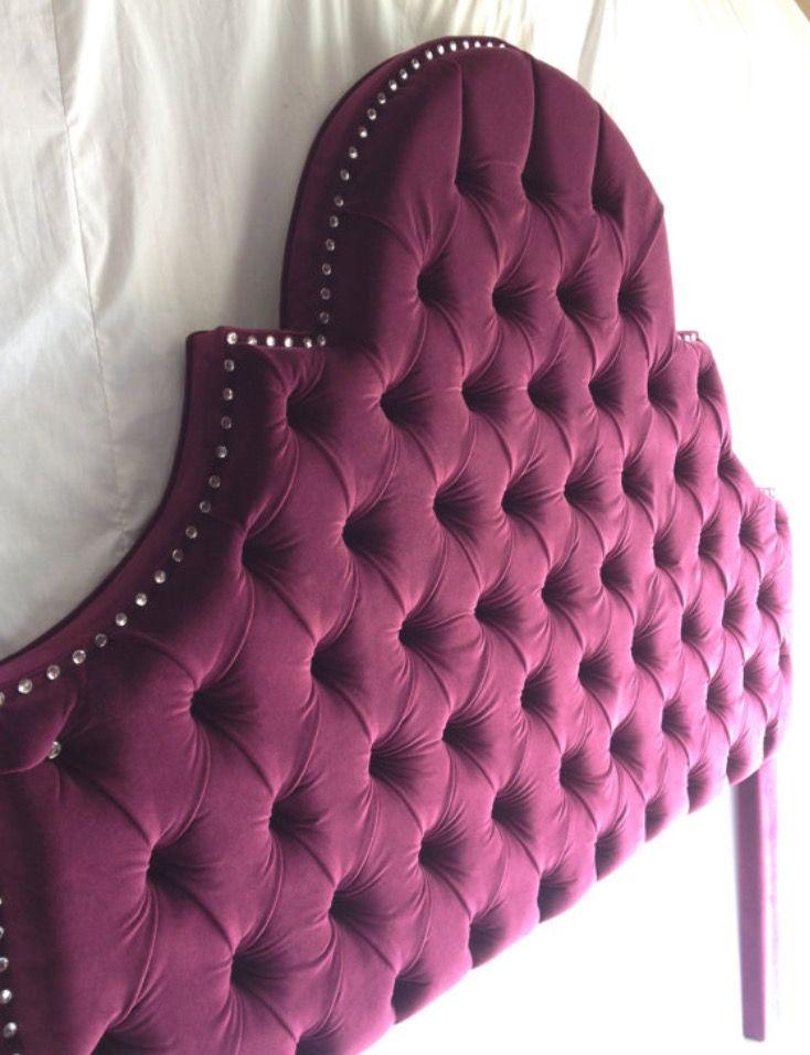 Best 25+ Purple headboard ideas on Pinterest   Head boards ...