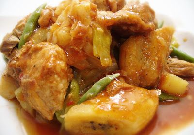 Filipino Chicken Pochero