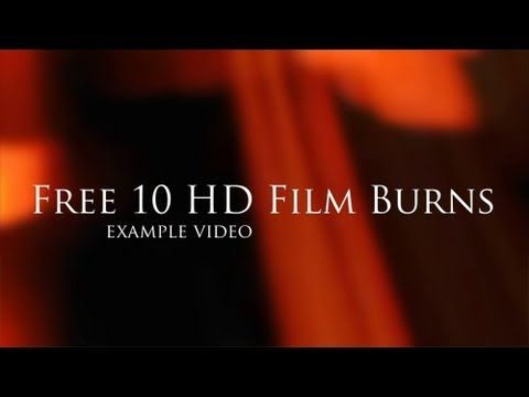 HD Film Burns transitions - free 10 HD transitions in action