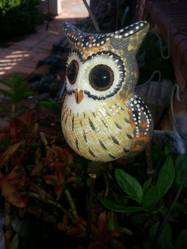 Ceramic owl. From Irene market. Pretoria.