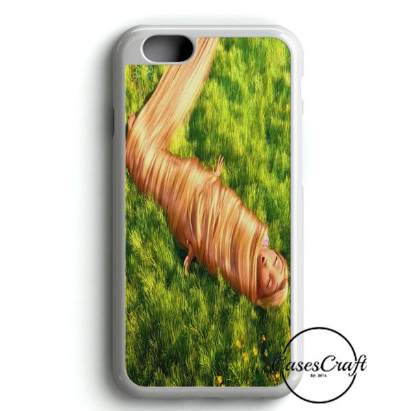Funny Tangled Rapunzel Playing With Her Hair iPhone 6/6S Case | casescraft