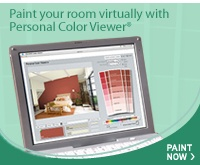 Benjaminmoore.com -- Upload a photo of a room and use their color combo tool to see what it will look like.