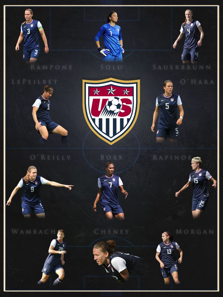 US Women's National Team Who's ur fav in da pic Mines obviously Pinoe