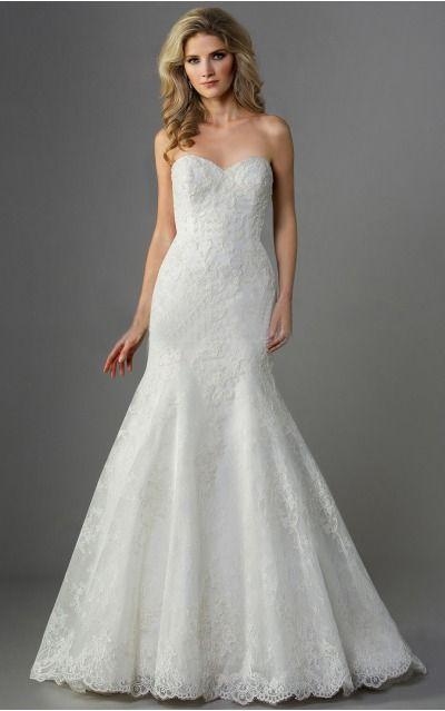 Mermaid Sweetheart Empire Sleeveless Floor-length Wedding Dresses wfs0003