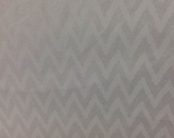 Check out Silver Chevron fabric by the yard, Georgette Bridesmaid Fabric, Wedding Decor Fabric, Chiffon Sparkly fabric for Wedding Dresses Light Grey on blingscarves