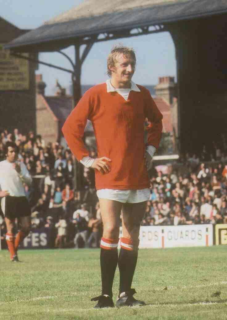 Denis Law of Man Utd in 1971.