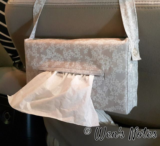 Hanging Tissue Box Cover | Wen's Notes