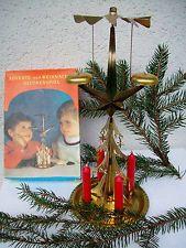 DDR Blechpyramide - Engelsgeläut-Weihnachts-Glockenspiel - mit Kerzen - OVP 1Tag