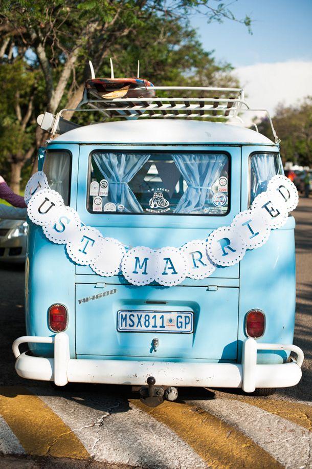 Boho campervan | SouthBound Bride www.southboundbride.com Credit: Stroopsoet Photography