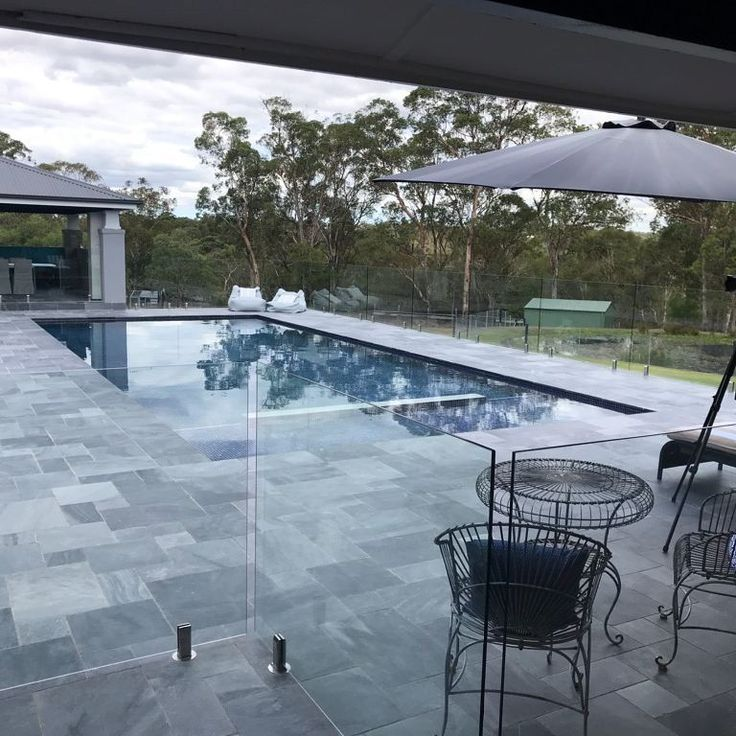 Amber Tiles Kellyville: pinned from Instagram (@amberkellyville) Photoshoot for our prizewinner in the #lovemyamber promo. Congratulations guys. Belgium Blue Limestone sealed with Intensifia for a dramatic colour effect. #belgiumblue #limestone #naturalstone #ambertiles #amberkellyville