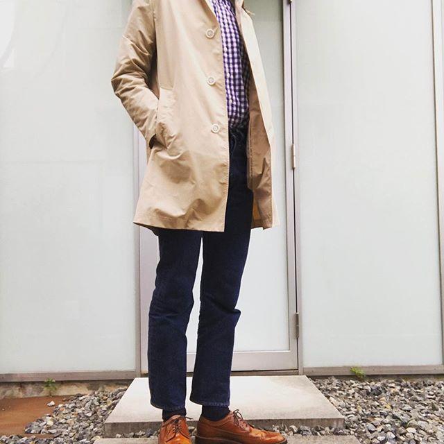 2017/05/03 08:00:06 b.width おはようございます☀GWは京都旅行に行ってきます✋️ インディビのシャツを着てるんですがオックスのシャツは他の生地の同じサイズのモノより縮みが強いんで袖が短くなりますね。 計算して買わねば🤔 いつかトランクショーでオーダーしてみたいものです👔 #リゾルト#インディビジュアライズドシャツ #トラディショナルウェザーウェア #オールデン