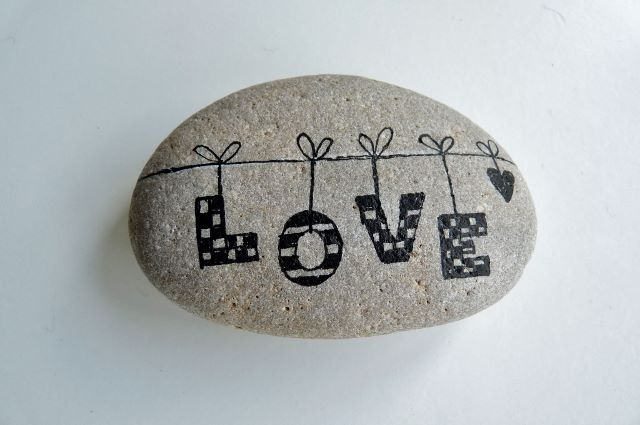 """""""love"""" ~ Pebbles of Portugal"""
