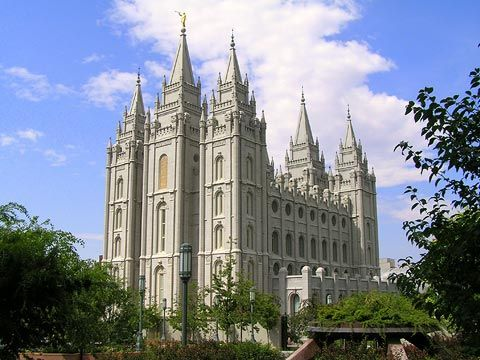 Salt Lake City Temple... Majestic....