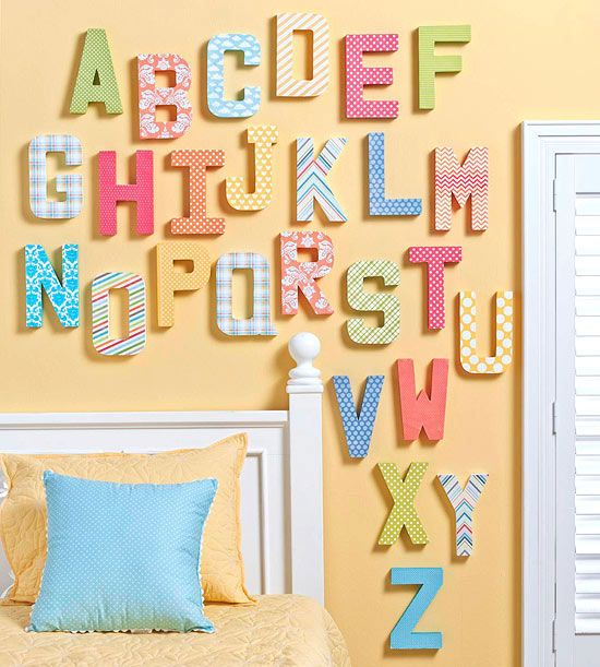 421 best ABC\'s room images on Pinterest | Child room, Play rooms and ...