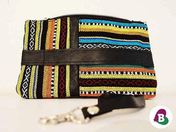 Lima Clutch & Cross Body Bag  Black Leather  by becauseilikeitAU