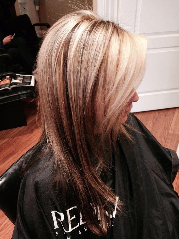 Dark Brown Hair Light Brown Lowlights