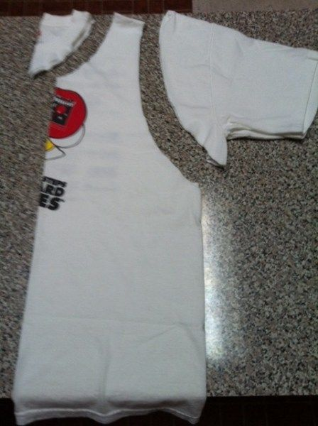 DIY T-shirt Tank Top | Handy Husband - Crafty Wife