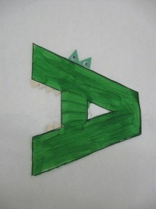 French Alphabet Art