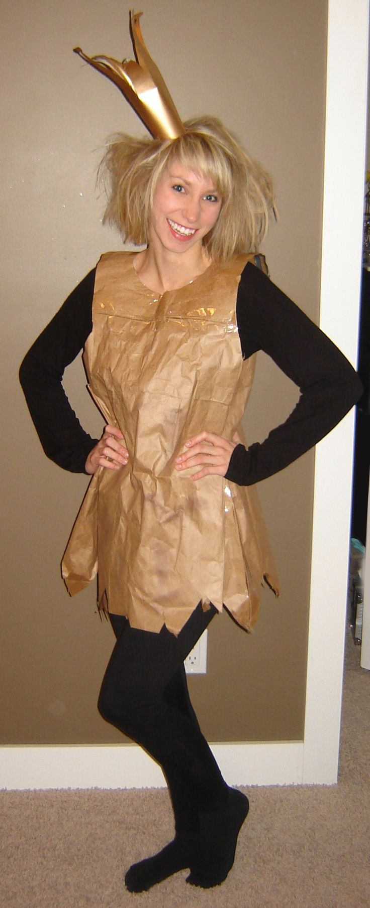 Paperbag princess - looks like I found my character parade costume!
