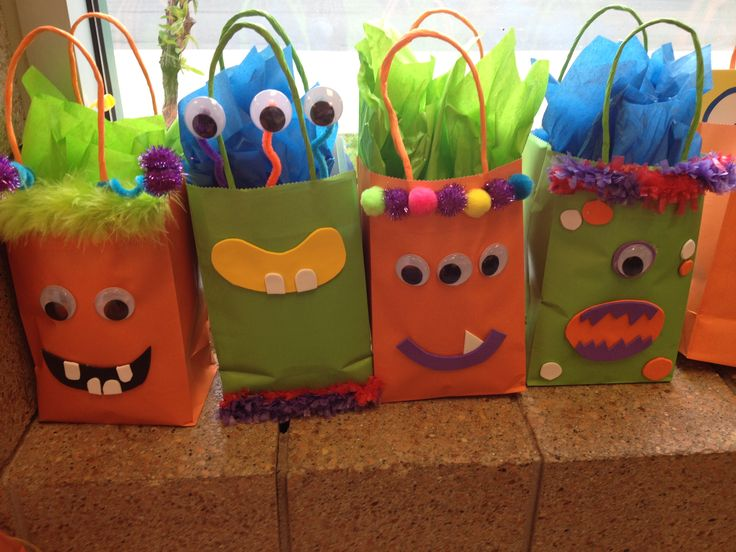 Monster-themed Baby Shower: Goody Bags