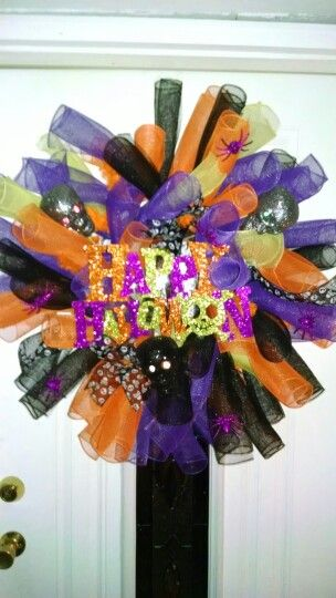 My halloween wreath