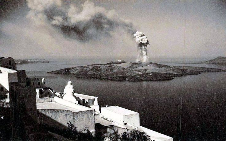GREECE - SANTORINI 1952!... Σαντορίνη 1952...το ηφαίστειο .