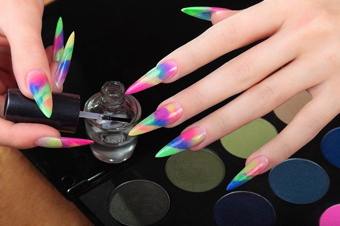 Nail Art For Beginners - Pointed Nail Art