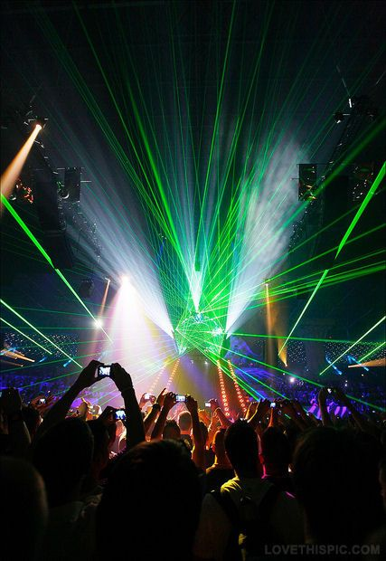 Club Light Show party colorful cool