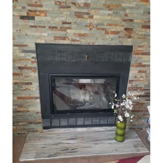 Nightwell Fireplace Glass Door For Prefab Fireplaces Prefab