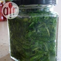 Photo recette : Conserves d'oseille toutes simples
