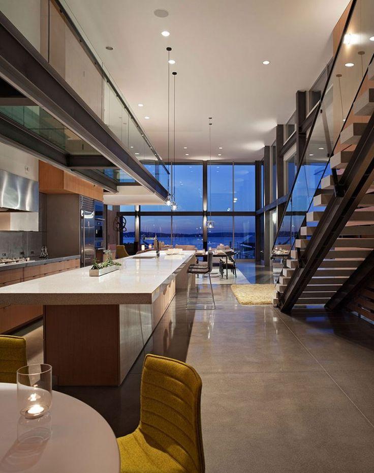 Graham House in Mercer Island, Washington by E. Cobb Architects: Interior Design, Dream House, Dream Decor, Kitchen, Modern Houses, Daily Dream, Graham House