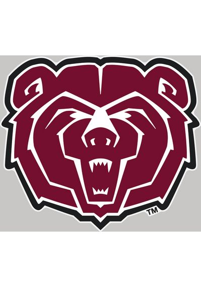 Missouri State Bears 4x5 Auto Decal http://www.rallyhouse.com/shop/missouri-state-bears-auto-decal-mo-state-4x5-logo-decal-16370038?utm_source=pinterest&utm_medium=social&utm_campaign=Pinterest-MissouriStBears $4.99