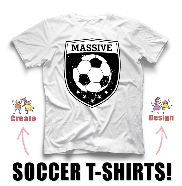 massive soccer custom t shirt design create custom shirts for your team with our
