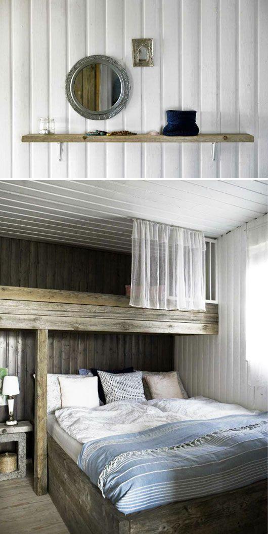 loft-like bed